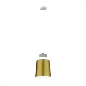 LED Κρεμαστό φωτιστικό Ακρυλικό Χρυσό Ø120 Θερμό λευκό 3000Κ
