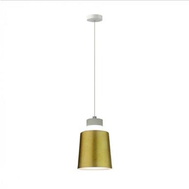 LED Κρεμαστό φωτιστικό Ακρυλικό Χρυσό Ø120 Φυσικό λευκό 4000Κ