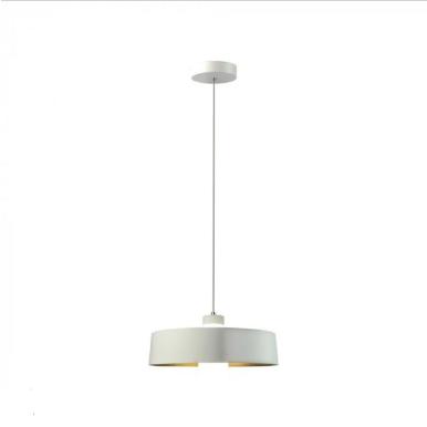 LED Κρεμαστό φωτιστικό Ακρυλικό Λευκό Ø340 Φυσικό λευκό 4000Κ