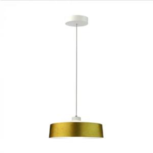 LED Κρεμαστό φωτιστικό Ακρυλικό Χρυσό Ø340 Θερμό λευκό 3000Κ