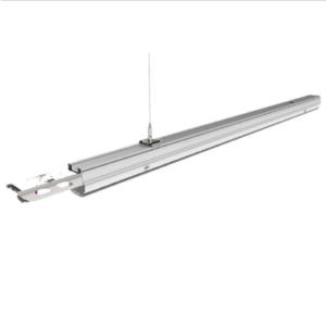 LED Γραμμικό Φωτιστικό Επαγγελματικού Φωτισμού 50W με κάτοπτρο 120° Φυσικό λευκό 4000K Αρσενικό