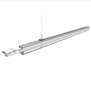 LED Γραμμικό Φωτιστικό Επαγγελματικού Φωτισμού 50W με κάτοπτρο διπλού ασύμμετρου φωτισμού Φυσικό λευκό 4000K Αρσενικό