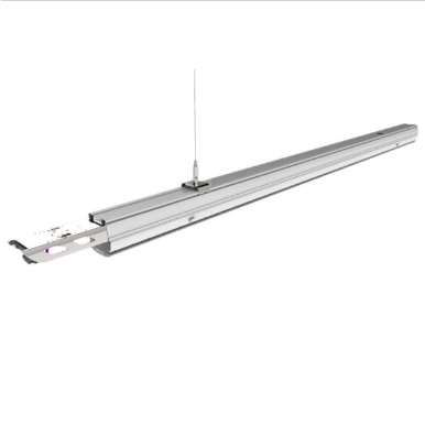 LED Γραμμικό Φωτιστικό Επαγγελματικού Φωτισμού 50W με κάτοπτρο 90° Φυσικό λευκό 4000K Αρσενικό