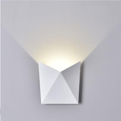 LED απλίκα 5W αρχιτεκτονικού φωτισμού 4000K Φυσικό λευκό Λευκό σώμα