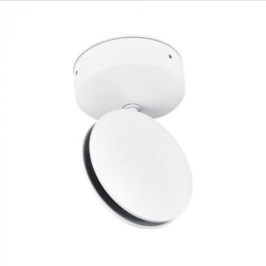 LED απλίκα δέσμης 7W Στρογγυλή αρχιτεκτονικού φωτισμού 4000K Φυσικό λευκό Λευκό σώμα