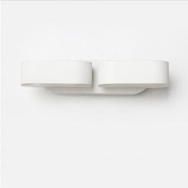 LED απλίκα 12W αρχιτεκτονικού φωτισμού 3000K Θερμό λευκό Λευκό σώμα περιστρεφόμενο