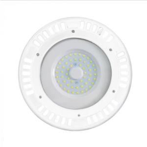 Καμπάνα LED UFO 50W 4000K Φυσικό λευκό 120° με λευκό σώμα