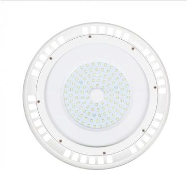 Καμπάνα LED UFO 100W 6400K Λευκό 120° με λευκό σώμα