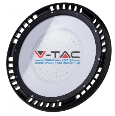 LED Καμπάνα UFO Samsung Chip Meanwell Driver SMD 200W 4000K Φυσικό λευκό High lumens 120°