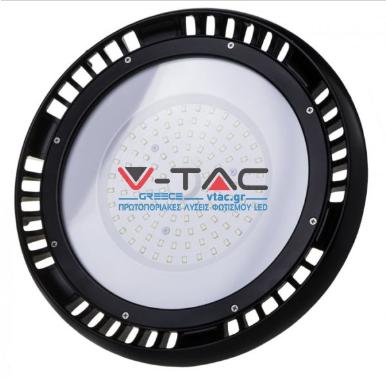 LED Καμπάνα UFO Samsung SMD 100W 6400K Λευκό 120° Meanwell High Lumens