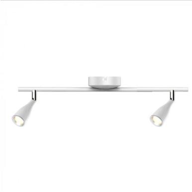LED φωτιστικό οροφής διπλό 9W 4000K Φυσικό λευκό Λευκό σώμα