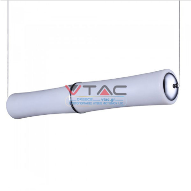 LED κρεμαστό φωτιστικό οροφής 52W Θερμό λευκό με λευκό σώμα Triac dimmable