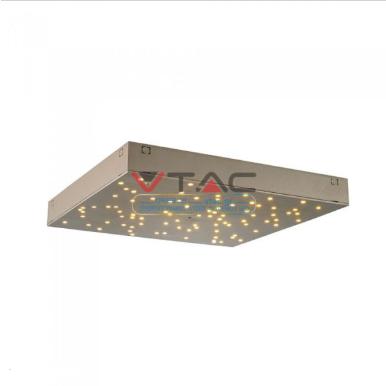 LED φωτιστικό οροφής 8W Stars με εναλλαγή χρώματος και Dimmable με χρυσό σώμα