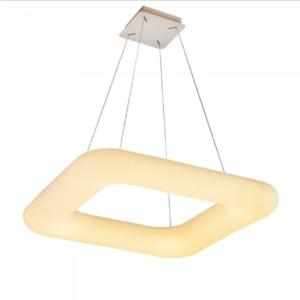 LED κρεμαστό φωτιστικό οροφής 42W με εναλλαγή χρώματος και λευκό σώμα Dimmable