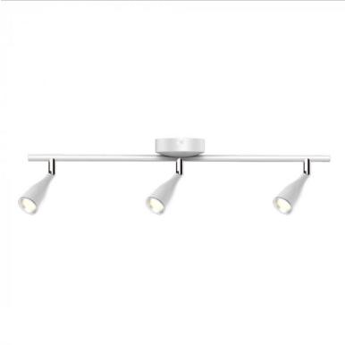 LED φωτιστικό οροφής τριπλό 13.5W 3000K Θερμό λευκό Λευκό σώμα
