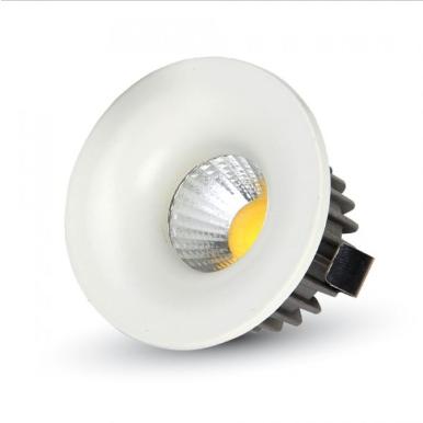 LED φωτιστικό οροφής χωνευτό Στρογγυλό COB 3W 3000K Θερμό λευκό