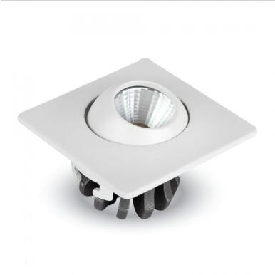 LED φωτιστικό οροφής χωνευτό Τετράγωνο COB 3W 4500K Φυσικό λευκό