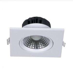 LED φωτιστικό οροφής χωνευτό Τετράγωνο SMD 5W 3000K Θερμό λευκό