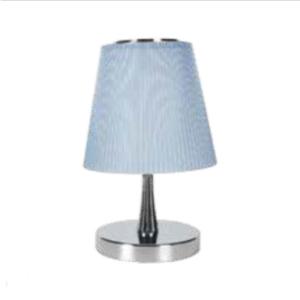 LED φωτιστικό γραφείου 5W Φυσικό λευκό με Ασημί,μπλε σώμα