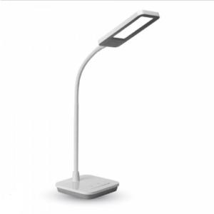 LED φωτιστικό γραφείου 7W Λευκό με Λευκό,γκρι σώμα