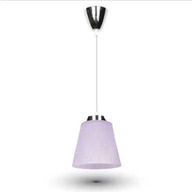 LED φωτιστικό γραφείου 7W Φυσικό λευκό με Ασημί,μωβ σώμα