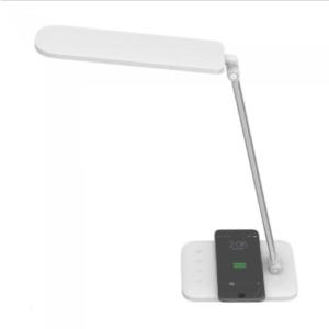 LED φωτιστικό γραφείου 16W Θερμό/φυσικό/ψυχρό λευκό με Λευκό σώμα Wireless charger