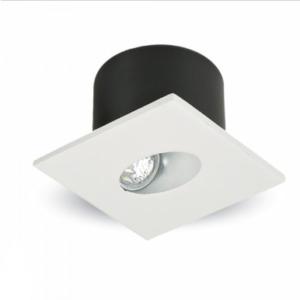 LED φωτιστικό χωνευτό τετράγωνο COB 3W 4000K Φυσικό λευκό