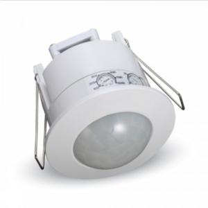 Ανιχνευτής κίνησης χωνευτός Infrared Max 1200W Λευκό με δυνατότητα παράκαμψης