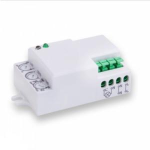 Ανιχνευτής κίνησης Microwave Max 300W Λευκό