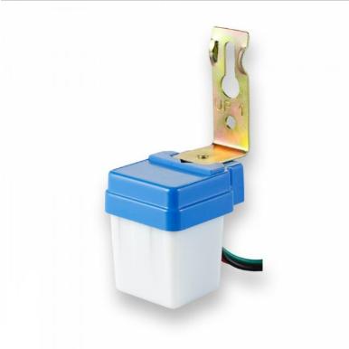 Ανιχνευτής μέρας/νύχτας Photocell Max 500/800W Λευκό,μπλε