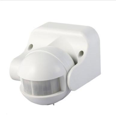 Επιτοίχιος ανιχνευτής κίνησης Infrared Max 1200W Λευκό με δυνατότητα παράκαμψης