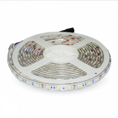 Tαινία LED DC:12V SMD5050 4.8W/m IP65 4500K Φυσικό λευκό