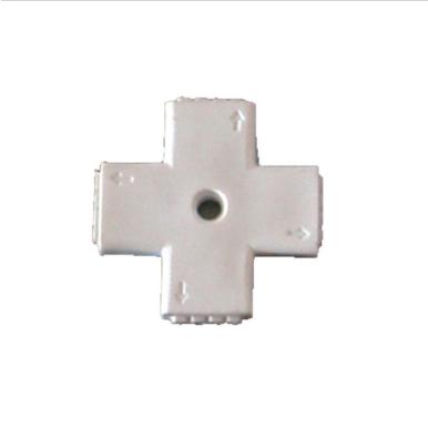 Σταθερός σύνδεσμος για ταινία LED SMD5050 σταυρός