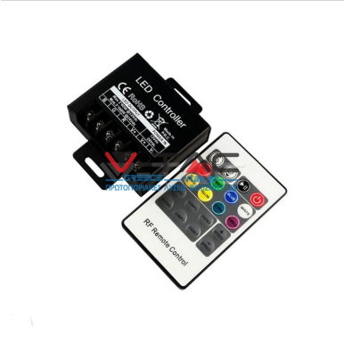 LED Controller RGB με χειριστήριο RF 20 κουμπιών μικρό