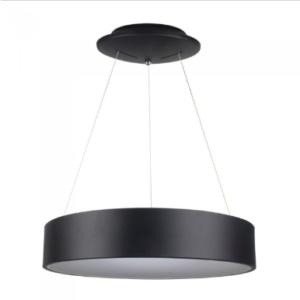 LED πολυέλαιος 30W 3000K Θερμό λευκό Dimmable με μαύρο σώμα