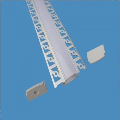 Προφίλ αλουμινίου για ταινίες led γυψοσανίδας φαρδύ 2m