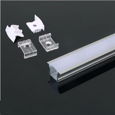 Προφίλ αλουμινίου για ταινίες led χωνευτό 2000x23x15.5mm