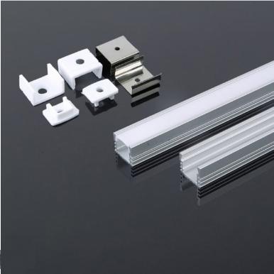 Προφίλ αλουμινίου για ταινίες led 2000×17.2×15.5mm