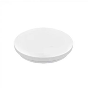 LED πλαφονιέρα 14W Στρογγυλή 3000K Θερμό λευκό με Λευκό σώμα