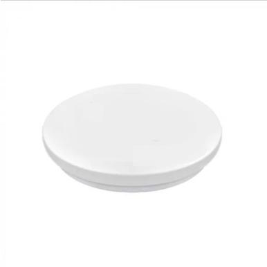 LED πλαφονιέρα 14W Στρογγυλή 6400K Λευκό με Λευκό σώμα