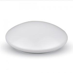 LED πλαφονιερα/απλίκα 12W Στρογγυλό 3000K Θερμό λευκό Λευκό σώμα