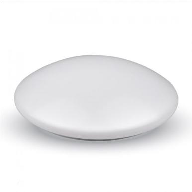 LED πλαφονιερα/απλίκα 12W Στρογγυλό 6500K Λευκό Λευκό σώμα