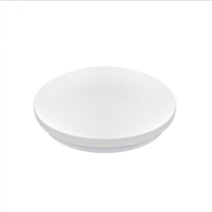 LED πλαφονιέρα 20W Στρογγυλή 3000K Θερμό λευκό με Λευκό σώμα