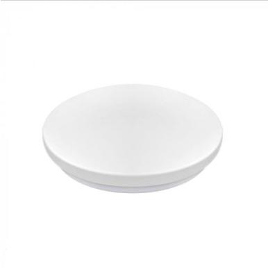 LED πλαφονιέρα 32W Στρογγυλή 6400K Λευκό με Λευκό σώμα