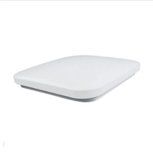 LED πλαφονιέρα 20W Τετράγωνη 3000K Θερμό λευκό με Λευκό σώμα