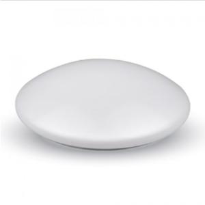 LED πλαφονιερα/απλίκα 24W Στρογγυλό 6500K Λευκό Λευκό σώμα