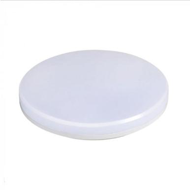 LED πλαφονιερα/απλίκα 25W Στρογγυλό 6400K Λευκό Λευκό σώμα