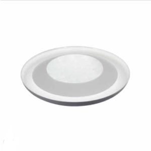 LED πλαφονιέρα / απλίκα 48W με RF CONTROL & TIMER και επιλογή στα τρία βασικά χρώματα – Κρύσταλλο – Λευκό σώμα