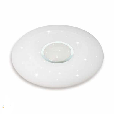 LED πλαφονιέρα / απλίκα 60W με τηλεχειριστήριο και επιλογή στα τρία βασικά χρώματα – Ντιμαριζόμενο – Στρογγυλό κάλυμμα