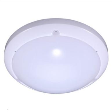 LED πλαφονιερα/απλίκα με αισθητήρα κίνησης 16W Στρογγυλό 6000K Λευκό Λευκό σώμα